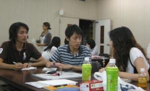 9月4日関西大学学生
